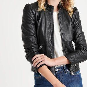 Jackets & Blazers - Lucky Brand Women's Leather Jacket (XS)